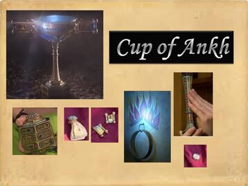 Cup of Ankh and clues or pieces