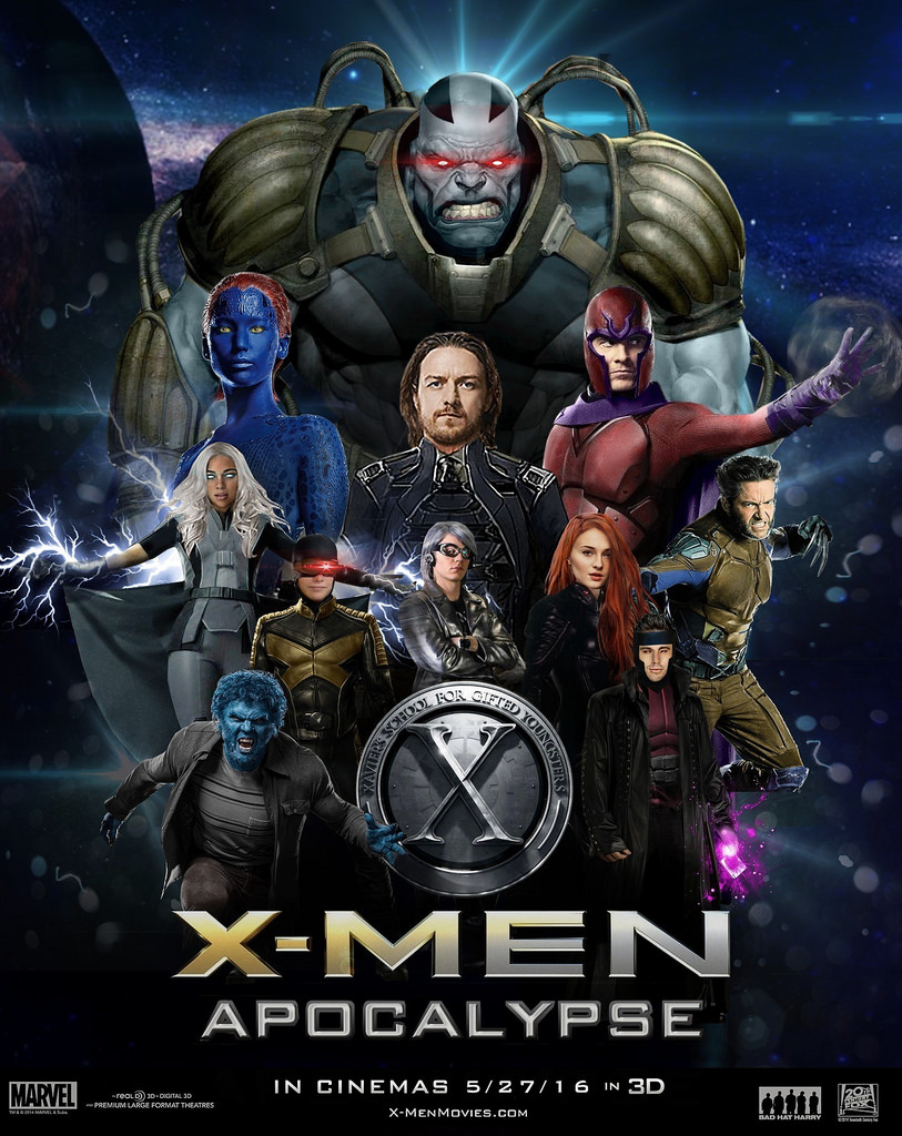 Image - X-Men- Apocalypse Poster.jpg | House of Anubis ...