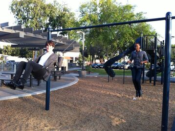 HOA boys swinging (lol)