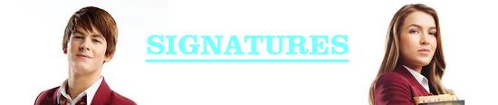 Fabina Signatures