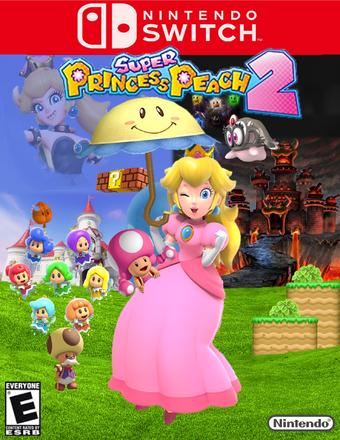 Super Princess Peach 2 The Idea 2 0 Wiki Fandom