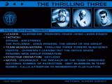 Thrilling Three
