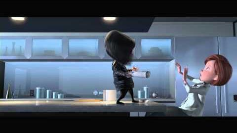 """The Incredibles on Blu-ray """"Ednas Pep Talk"""" - Clip"""