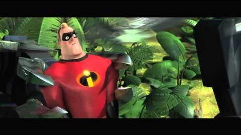 "The Incredibles on Blu-ray ""Your Biggest Fan"" - Clip"