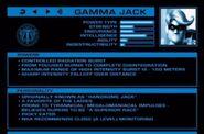 Gammajack stats