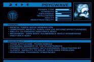 Psycwave stats