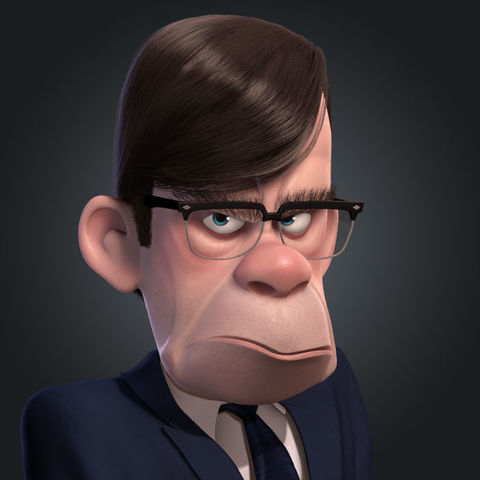 Gilbert Huph The Incredibles Wiki Fandom Powered By Wikia