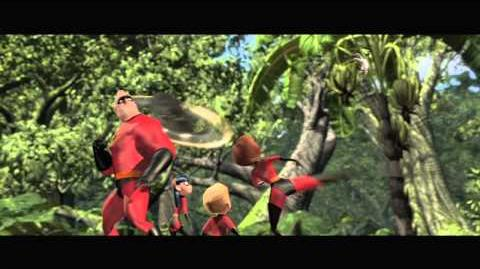 "The Incredibles on Blu-ray ""Battle Time is Family Time"" - Clip"
