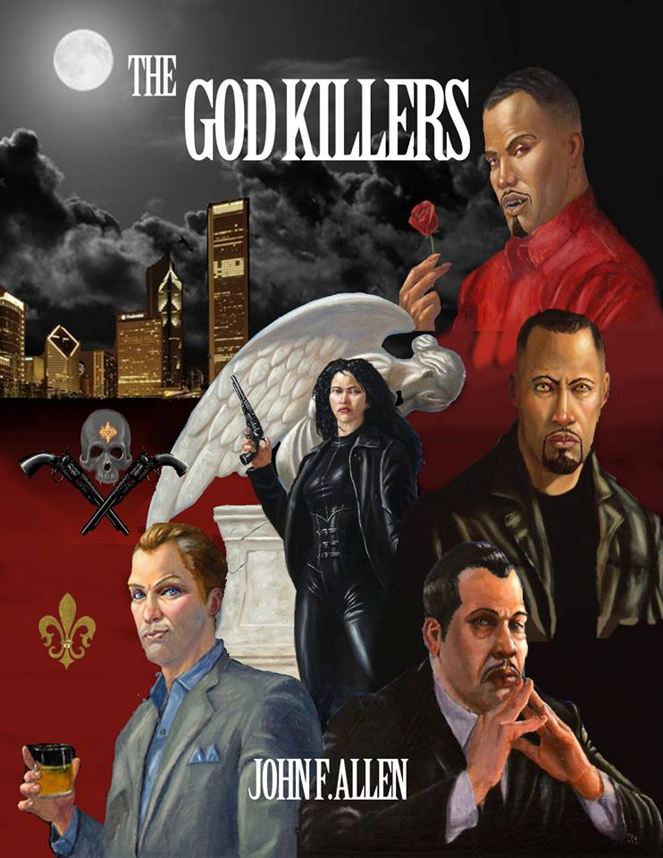 THE GOD KILLERS POSTER