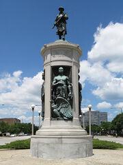 Victory Monument Bronzeville Chicago