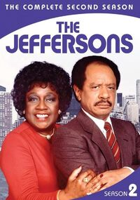 The Jeffersons Season 2 DVD cover