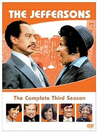 The Jeffersons Season 3 DVD cover