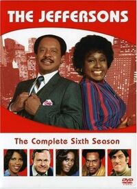 The Jeffersons Season 6 DVD cover