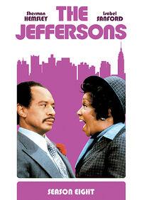 The Jeffersons Season 8 DVD cover