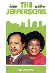 The Jeffersons Season 7 DVD cover