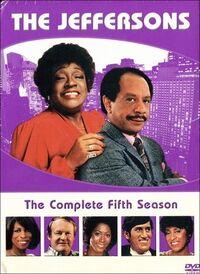 The Jeffersons Season 5 DVD cover