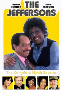 The Jeffersons Season 9 DVD cover