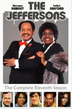 The Jeffersons Season 11 DVD cover