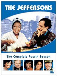 The Jeffersons Season 4 DVD cover