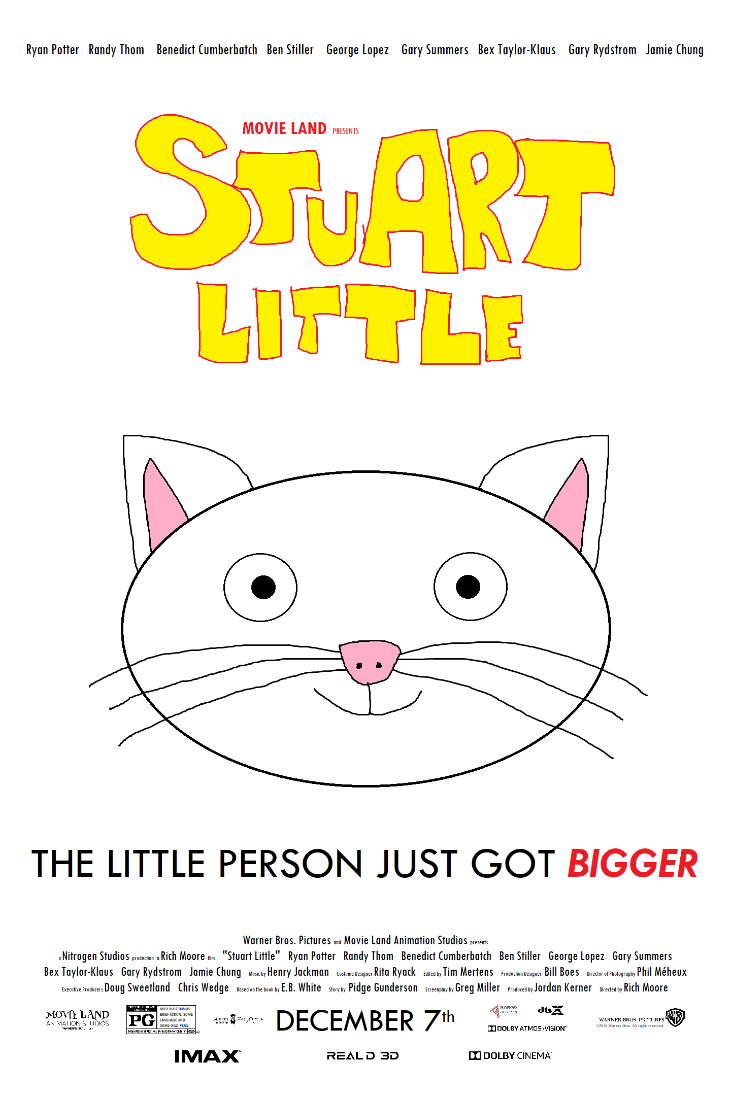 Stuart Little (2018 film)   The JH Movie Collection's Official Wiki