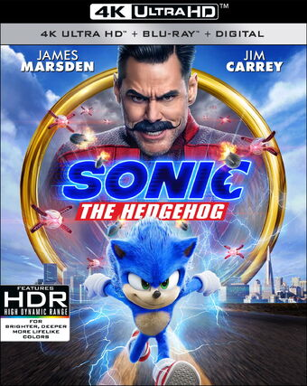 Sonic The Hedgehog Film Home Media The Jh Movie Collection S