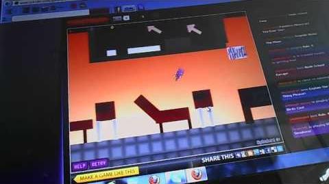 Sploder game walkthough;sonic school zone by jake2004