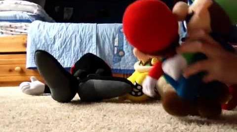 Super Mario bros The Movie The Evil Attack