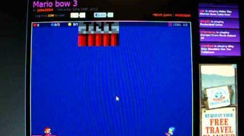 Mario bow games 1-6 walkthough
