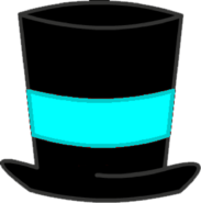 Cyan Top Hat Body