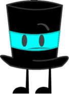 Cyan Top Hat Pose