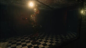 Ignited Springtrap in Office