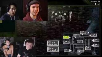 Five Nights at Freddy's 3 - Markiplier, JackSepticEye, Achievement Hunter React TOGETHER!