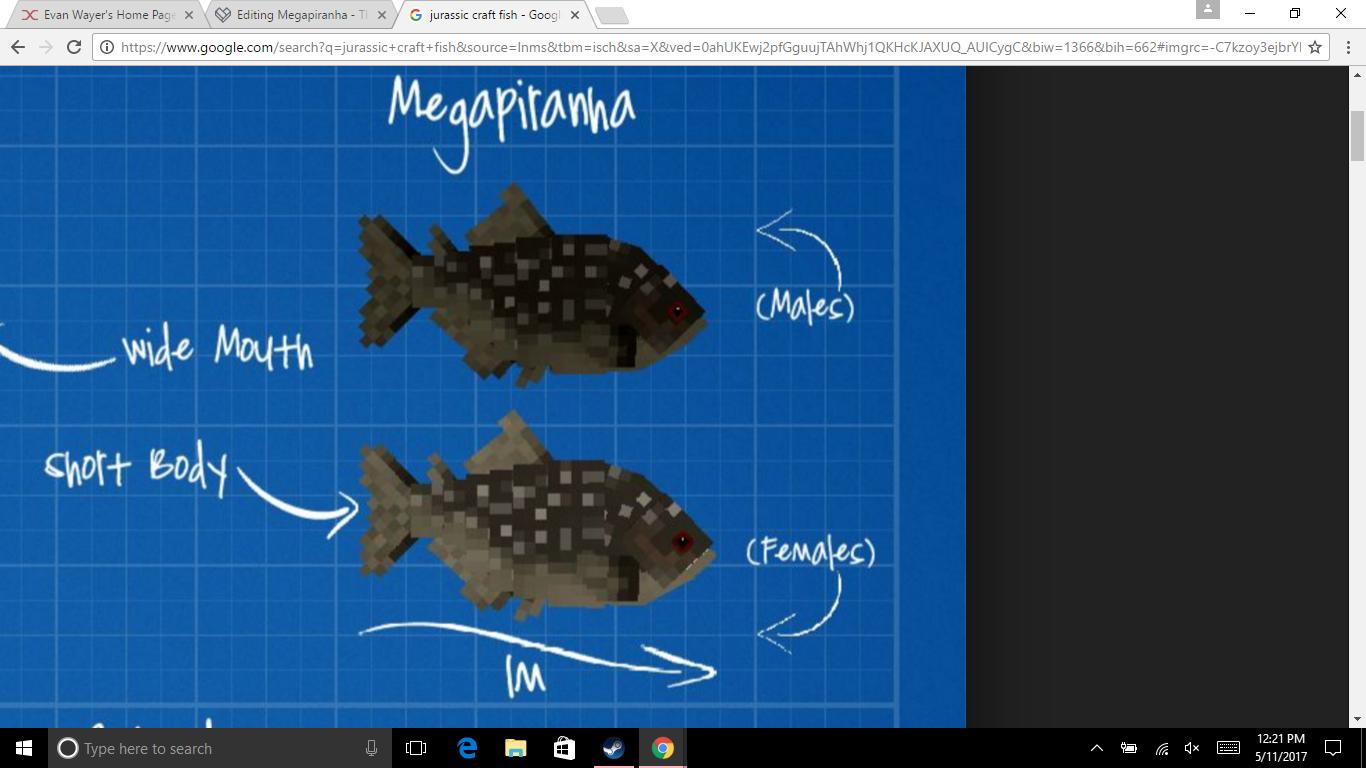 Megapiranha   The JurassiCraft Minecraft Mod Wiki   FANDOM powered