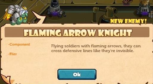 Flaming Arrow Knight