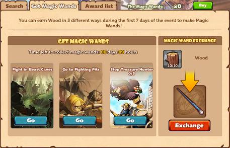 MFDoS Get Magic Wands