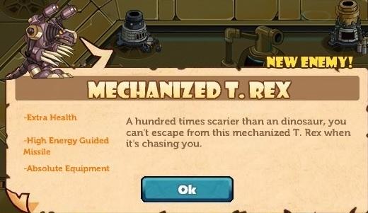 Mechanized T. Rex