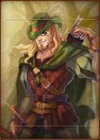 Hero Robin Eagleye portrait