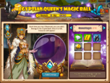 Egyptian Queen's Magic Ball