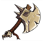 Equips Orc Axe