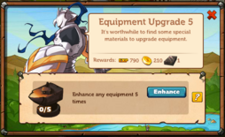 Equipment Upgrade 5