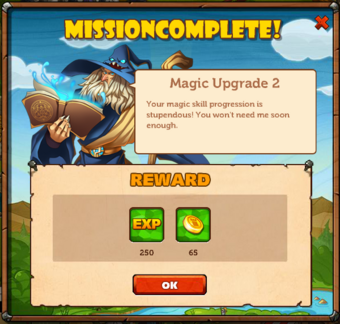 Main Quests - Magic Upgrade 2