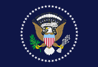 Flag of the President of the United States of America