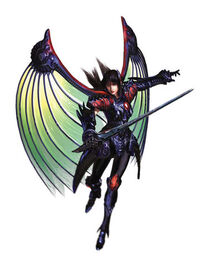 The Legend of Dragoon- Rose- Black Dragoon Form