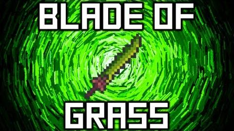 Terraria - Blade of Grass Weapon Terraria HERO Terraria Wiki