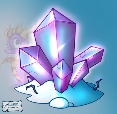 P Ice GemShard