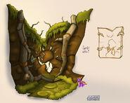 P Swamp SmashWall
