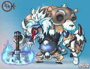A CinderCommander Ice