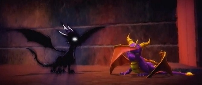 Image result for legend of spyro dark cynder