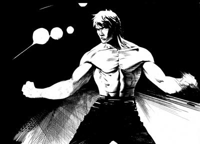 Martial artist by anghorkheng