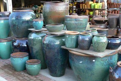 Ceramic large pot